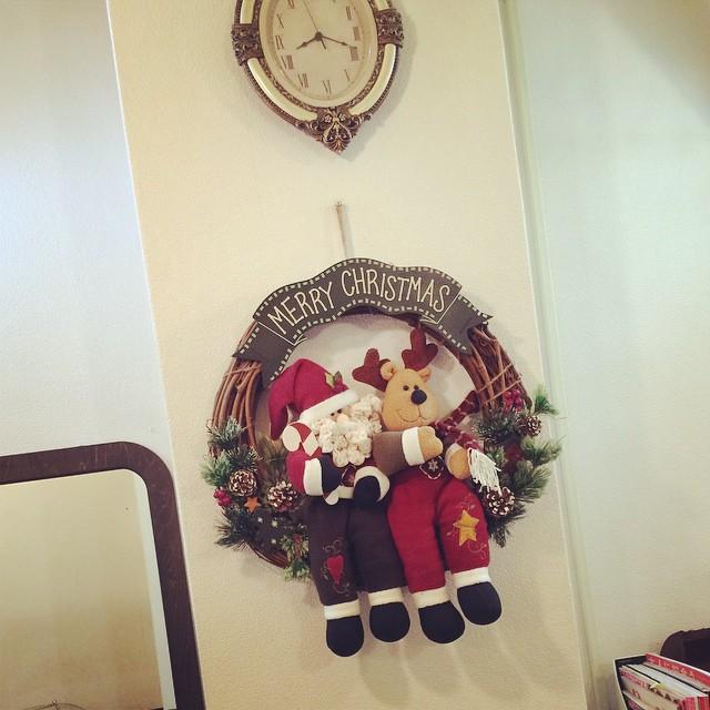 vicusの店内もクリスマスです♪
