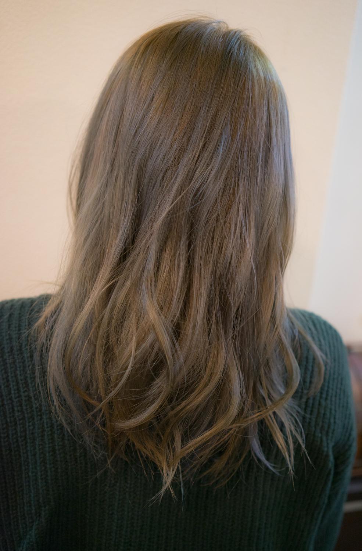 黒染めから赤みを消したい、透明感のある髪にしたい方必見!