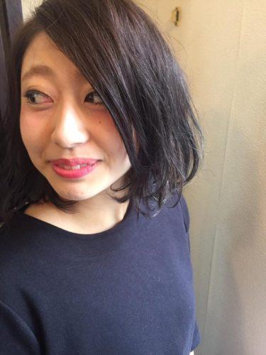 カットモデルとカラーチェンジ♡