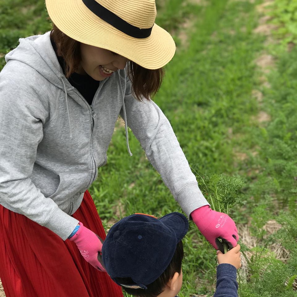 農業体験!!