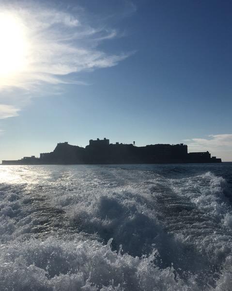 人生初!!軍艦島。
