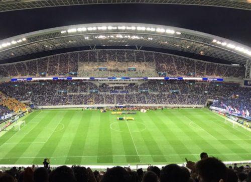 サッカー 日本×オーストラリア戦行ってきた。