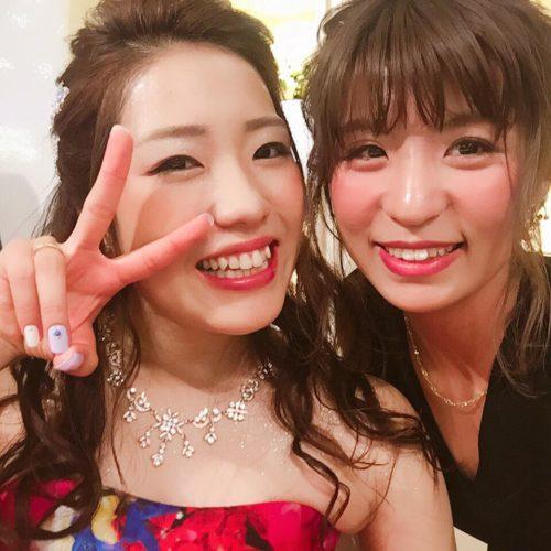 ☆友人の結婚式とヘアセット☆
