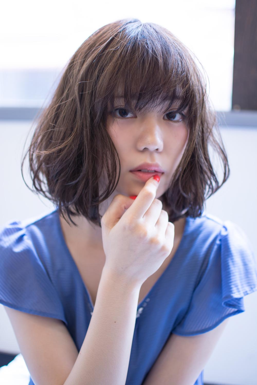 濡れ髪でオシャレ度up☆